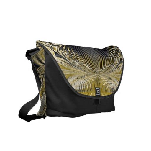 La bolsa de mensajero del ~ de la mina de oro bolsa de mensajería