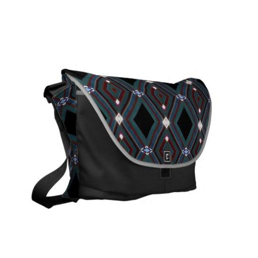 La bolsa de mensajero del ~ del diamante bolsas de mensajeria