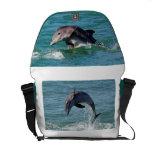 La bolsa de mensajero del delfín bolsas de mensajería