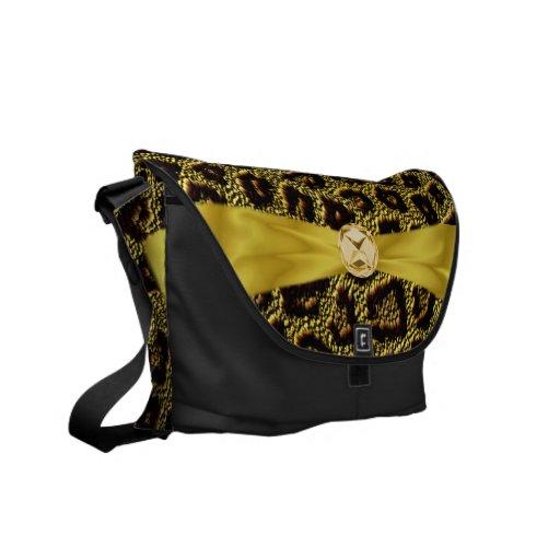 La bolsa de mensajero del diamante de la cinta del bolsas de mensajeria