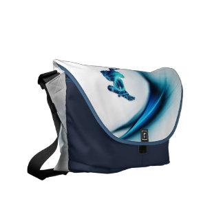 La bolsa de mensajero del diseño de la snowboard bolsa de mensajeria