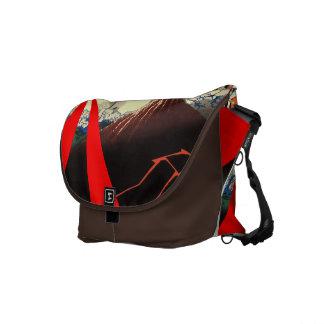 La bolsa de mensajero del diseño del japonés bolsa de mensajeria