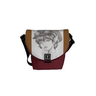 La bolsa de mensajero del duendecillo de Steampunk Bolsa Messenger