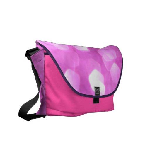 """la bolsa de mensajero del """"encanto rosado"""" - bolsa de mensajeria"""