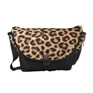 La bolsa de mensajero del estampado leopardo bolsa messenger