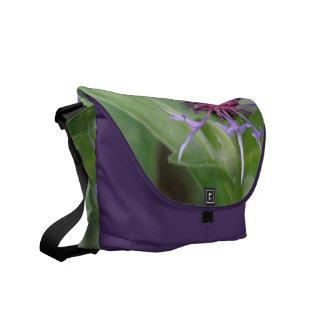 La bolsa de mensajero del flor de la flor del botó bolsa de mensajeria
