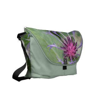 La bolsa de mensajero del flor de la flor del botó bolsas messenger