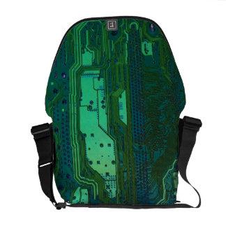 La bolsa de mensajero del friki del ordenador bolsa de mensajería