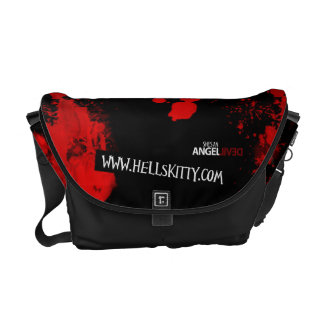 La bolsa de mensajero del gatito del infierno bolsa de mensajería