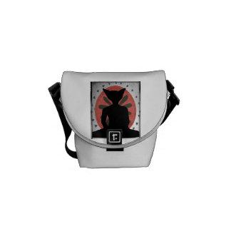 La bolsa de mensajero del gato de Buda Bolsas De Mensajeria