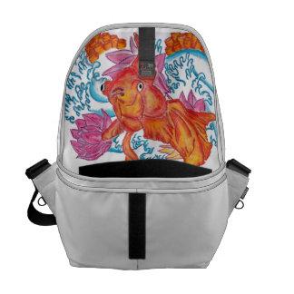 La bolsa de mensajero del Goldfish Bolsa De Mensajeria