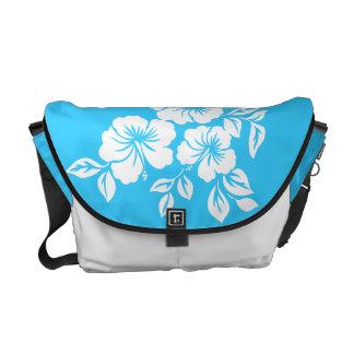 La bolsa de mensajero del Hawaiian del hibisco de  Bolsa De Mensajería