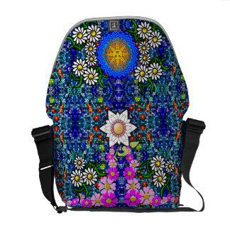 La bolsa de mensajero del jardín de flores del bolsa de mensajeria
