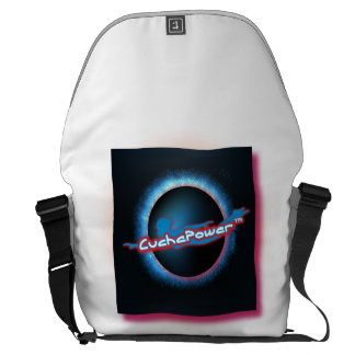 La bolsa de mensajero del logotipo 473d de bolsa messenger
