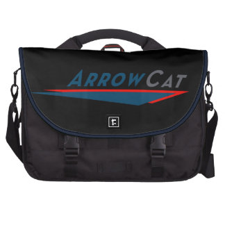 La bolsa de mensajero del logotipo de ArrowCat Bolsas Para Portátil