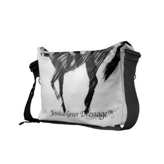 La bolsa de mensajero del logotipo de JGD Bolsa Messenger