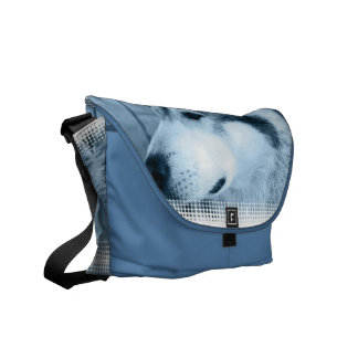 La bolsa de mensajero del Malamute de Alaska Bolsas De Mensajería