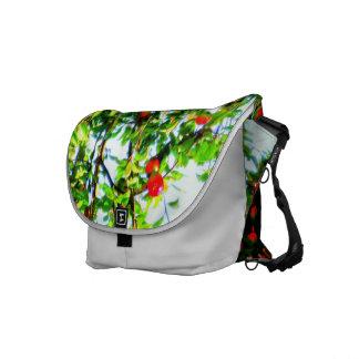 La bolsa de mensajero del medio del manzano bolsa de mensajeria
