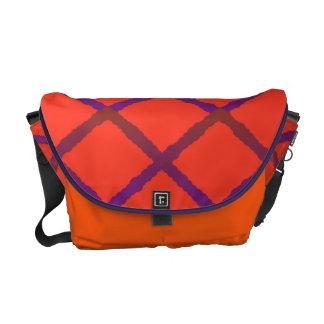 La bolsa de mensajero del modelo del enrejado bolsas de mensajería
