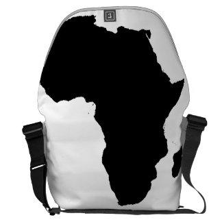 La bolsa de mensajero del ordenador portátil del bolsa messenger