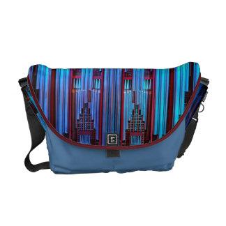 La bolsa de mensajero del órgano - azul bolsa de mensajeria