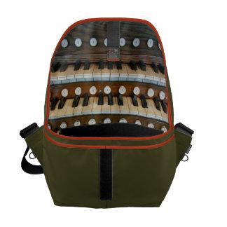 La bolsa de mensajero del órgano - verde bolsas messenger