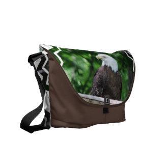 La bolsa de mensajero del pájaro de Eagle calvo Bolsa De Mensajería