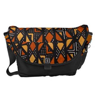 La bolsa de mensajero del paño del fango de AfriMe Bolsas De Mensajería