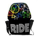 La bolsa de mensajero del paseo de Bicyle