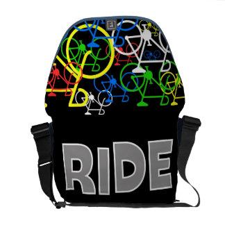 La bolsa de mensajero del paseo de Bicyle Bolsas Messenger