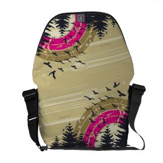 La bolsa de mensajero del paseo de la naturaleza bolsa de mensajería
