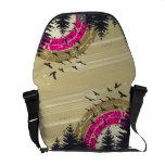 La bolsa de mensajero del paseo de la naturaleza bolsa messenger