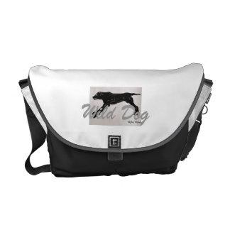 La bolsa de mensajero del perro salvaje bolsa de mensajeria
