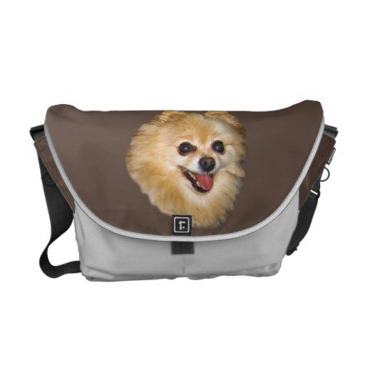 La bolsa de mensajero del personalizable del perro bolsa de mensajeria