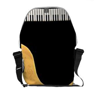 La bolsa de mensajero del piano bolsa de mensajería