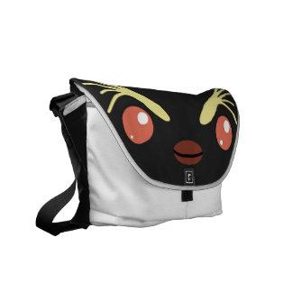 La bolsa de mensajero del pingüino de Rockhopper Bolsa De Mensajería