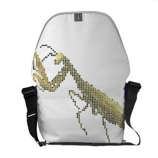 La bolsa de mensajero del predicador de Pixelated Bolsas Messenger