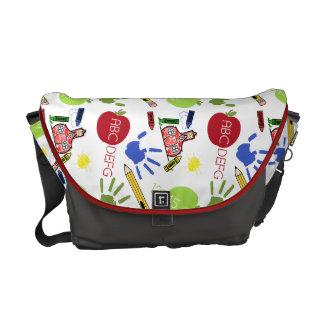 La bolsa de mensajero del profesor del modelo de l bolsas de mensajeria