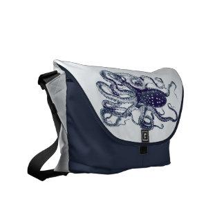 la bolsa de mensajero del pulpo bolsa de mensajeria