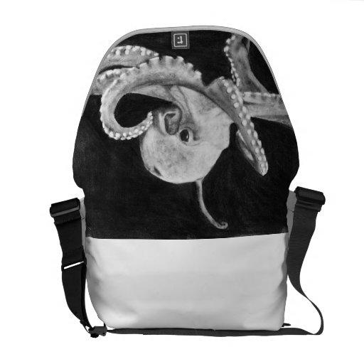 la bolsa de mensajero del pulpo bolsa de mensajería