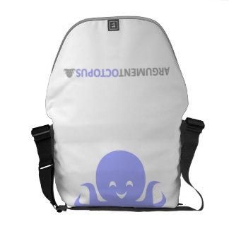La bolsa de mensajero del pulpo de la discusión bolsas de mensajeria