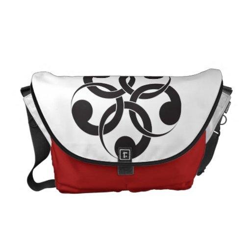 La bolsa de mensajero del símbolo de Valuegem Chin Bolsas Messenger