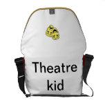 La bolsa de mensajero del teatro bolsa messenger