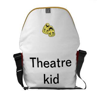 La bolsa de mensajero del teatro bolsas messenger