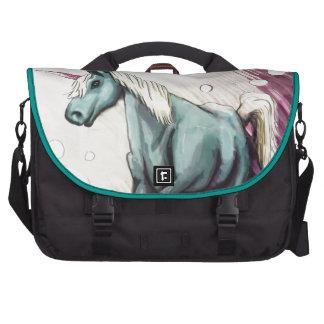 La bolsa de mensajero del unicornio bolsas de portatil