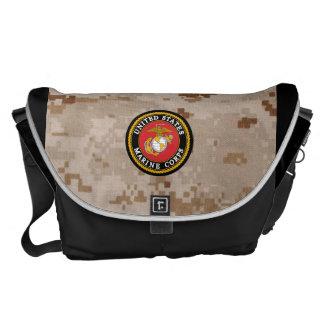 La bolsa de mensajero del USMC Bolsas De Mensajería