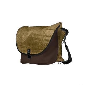 La bolsa de mensajero del viaje del vintage bolsas de mensajería