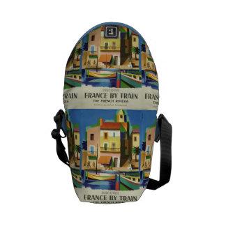 La bolsa de mensajero del viaje del vintage de FRA Bolsas Messenger
