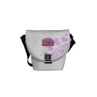 La bolsa de mensajero divertida de la novia de los bolsas messenger