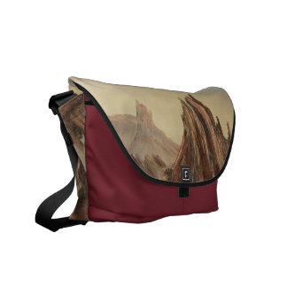 La bolsa de mensajero dramática del desierto bolsas messenger